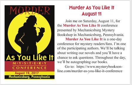 Murder As You Like It Conference